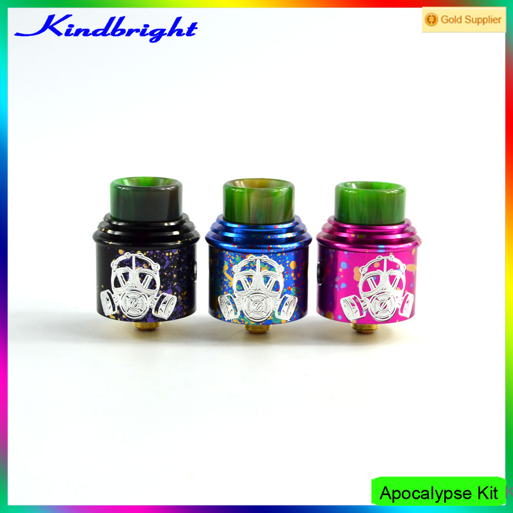 New Coming Electronic Cigarette Apocalypse GEN 2 Mod Kit/apocalypse rda 1:1 clone kit rda with good repuatation from kindbright