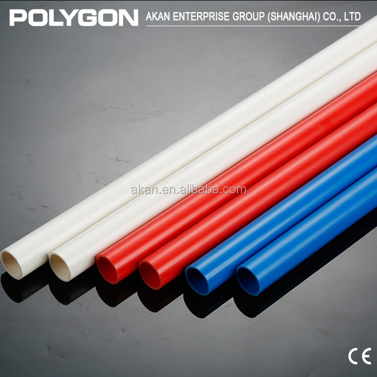 Polyethylene Plastic pipe Polygon Square Pvc Drain Pipe