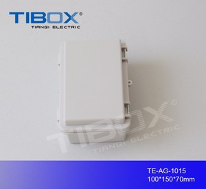 outdoor cable tv junction box with weatherproof feature