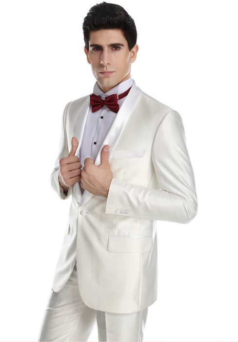 latest men white suit wedding pant coat design
