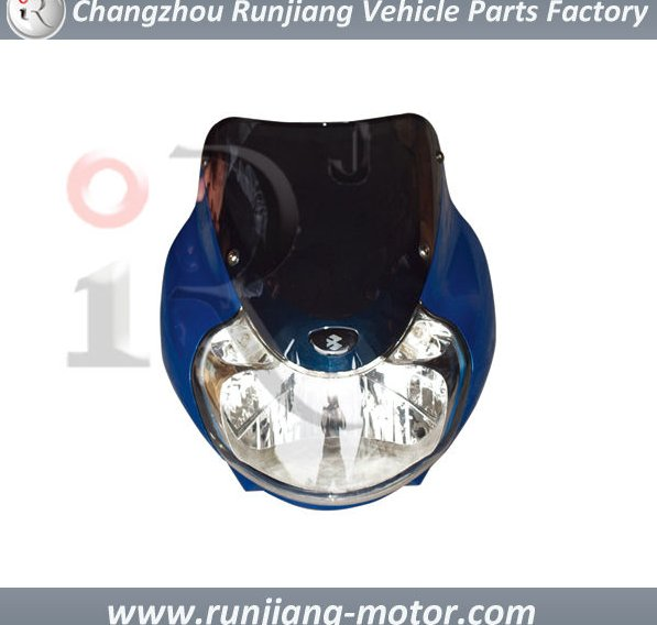 China Factory Headlight assy for BAJAJ pulsar 135 motorcycle spare parts