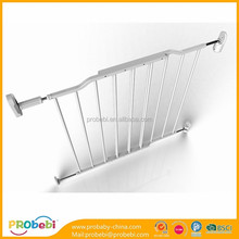 baby security easy open wide auto close metal safety gate