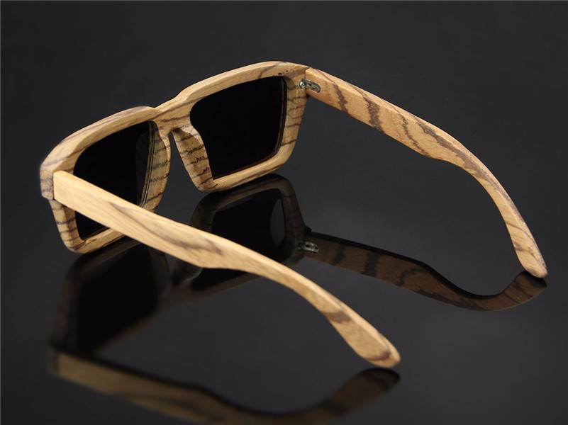 China Manufacturers New Coming Men Bamboo Wood Sunglasses Frame Polarized Custom Sunglasses