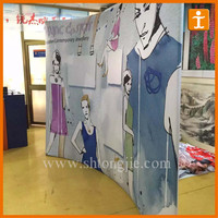 Fabric tension backdrop display racks,modern display racks