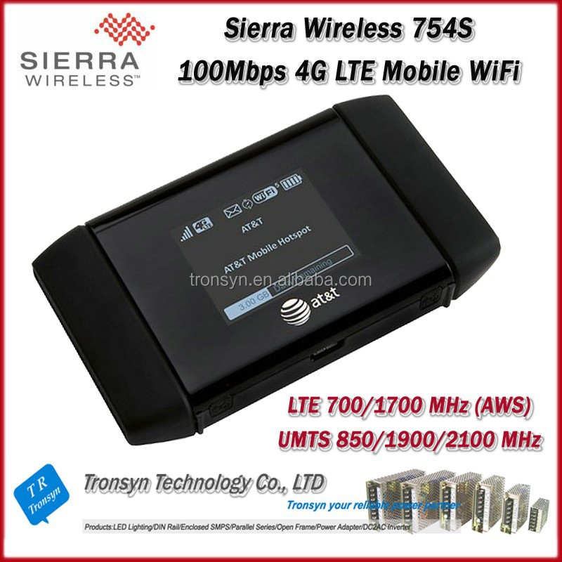Cheapest Originla Unlock LTE FDD 100Mbps Sierra Wireless Aircard 754S Portable 4G LTE GPRS Wireless WiFi Router