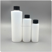250ml 500ml HDPE White Cosmetic Empty