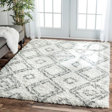 CHINA NO.1 SUPPLIER of nuLOOM Marrakech Trellis Hand Hooked Berry Area Rug