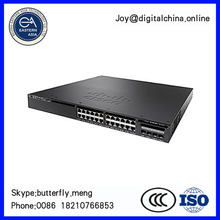 Original New! Cisco Catalyst 3650-24TD-E - switch - 24 ports - managed - desktop, rack-mo WS-C3650-24TD-E with Console Cable by