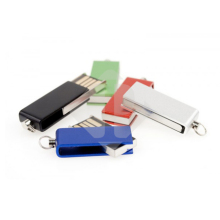 Company Name Printed Cheap Branded Twist USB Flash Drive
