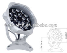 18W round led outdoor light