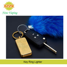 Keyring Support Carve Cigarette custom Lighter, Usb Chargeable Electronic Lighter, No Gas Windproof Lighter