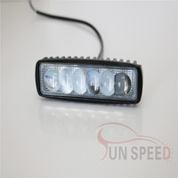 Reliable supplier 18w led spot light work light ,6 inch jeep wrangle JK tail light with discount