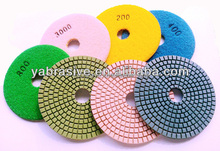 Diamond pad granite polishing pads for angle grinder