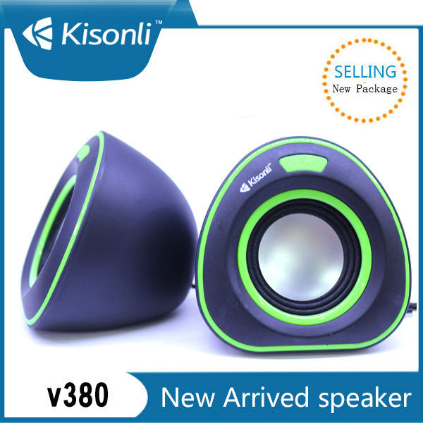 Portable Mini Speaker Built In Amplifier With USB Port