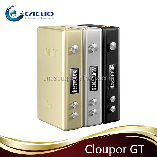 Alibaba wholesale Original Cloupor GT 80w box mod with high quality cloupor gt silicone case