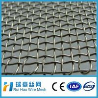 fencing wire ss316l stainless steel crimped wire mesh price