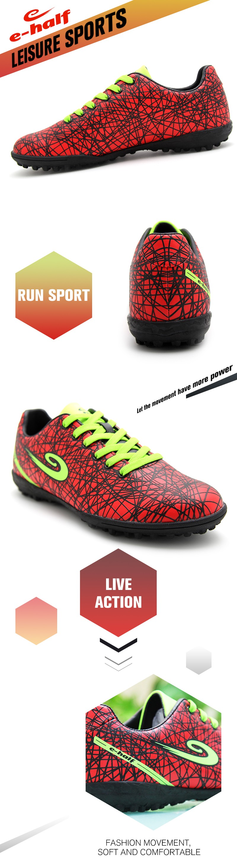 2017 sales good lace up red flat leather shoes women sports running