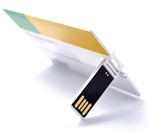 2016 Chinese Bulk Promotion OEM Logo Ultra Thin Credit Card USB Flash Drive
