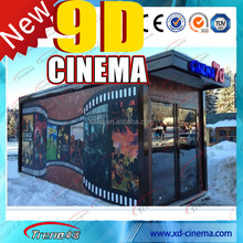 new amusement 2014 hot sale 3d 4d 5d cinema high simulation 5d simulator cinema 7d cinema simulator system