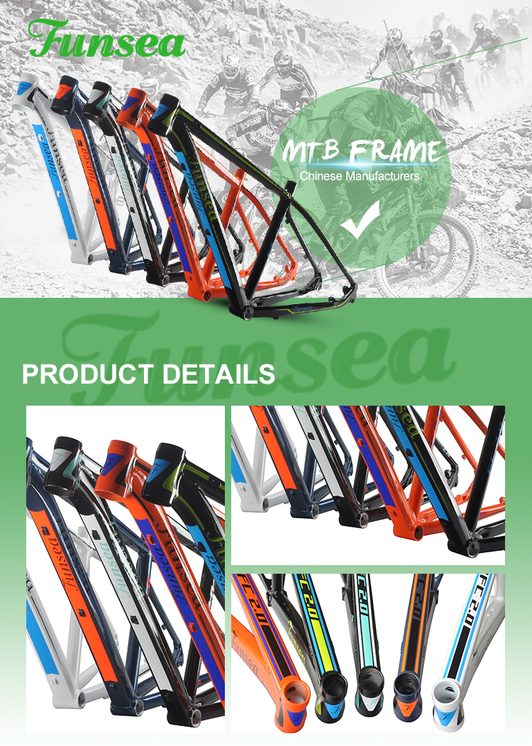 "Painting/Decal Finish wholesale alloy 6061 downhill mtb bicycle frame 27.5""*17""/18""/19""/20"" mountainbike frame in high quality"