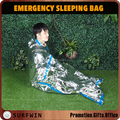 Silver Aluminum Foil emergency sleeping bag PE emergency bag