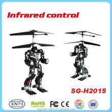 Cool new 2.5CH robot design RC helicopter toys