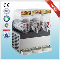 Ice crusher slush maker with high production Frozen fruit slush drink making machine