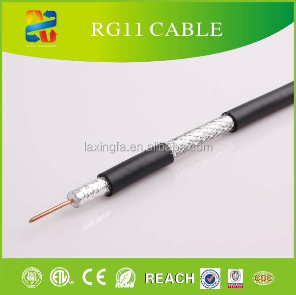 Low Voltage Types of Electric Conductors Computer Cable Satelite TV Cable RG59 RG11 RG6 RG213 RG58