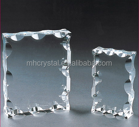 Blank crystal plaque Award MH-J0104