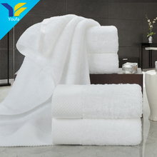 China suppliers wholesale white cotton bath towel hotel towel