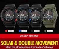 hot selling custom your logo solar power watches from china unisex buy online