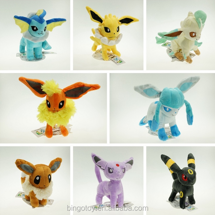 Popular Factory Direct Wholesale soft cute pokemon stuffed plush toy promotional gifts,custom plush toy