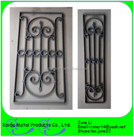 cast wrought iron decorative door grilles by window grill simple design