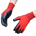 NMSAFETY 3121X hand care nitrile dipped working gloves