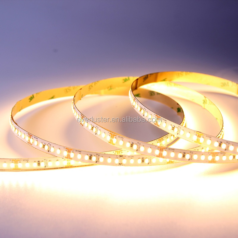 Hot sale factoty wholesale CE/Rohs waterproof DC24v led flexible strip light 3014,Christmas led strip