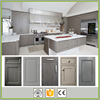 Grey Painted Shaker Solid Wood Kitchen Cabinet Made in China Professional Factory