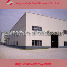 Prefabricated Light Steel Warehouse Building, Steel Structure Warehouse Drawings