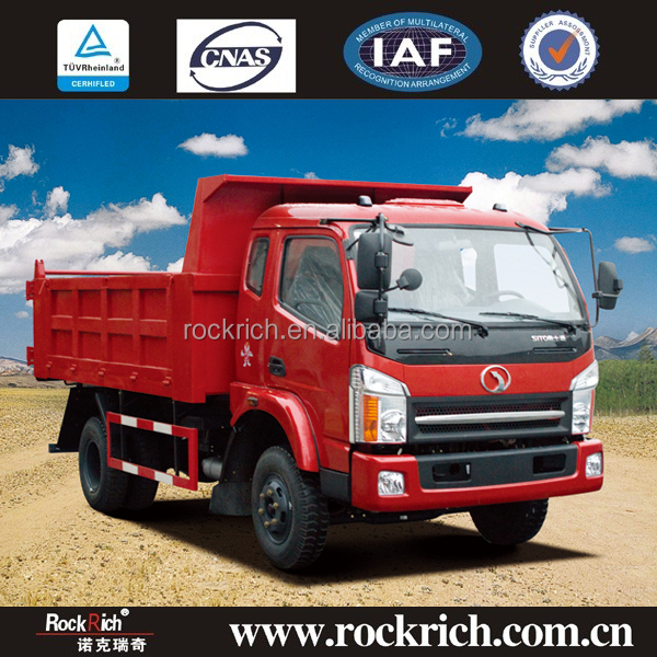 Direct Factory Price Top Brand 6 Ton 6 Wheeler Sitom Brand Dump Truck Load Of Sand