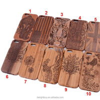 2015 New wood bamboo cell phone case for iphone 6 4.7 inch, for iphone case bamboo, for iphone 6 bamboo case