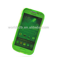 Soft Gel TPU Silicone Pouch Case Cover For Samsung Galaxy S4 Mini i9190, Front + Back all protect design