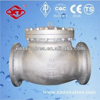 api carbon steel check valve API check valve gas valve with timer