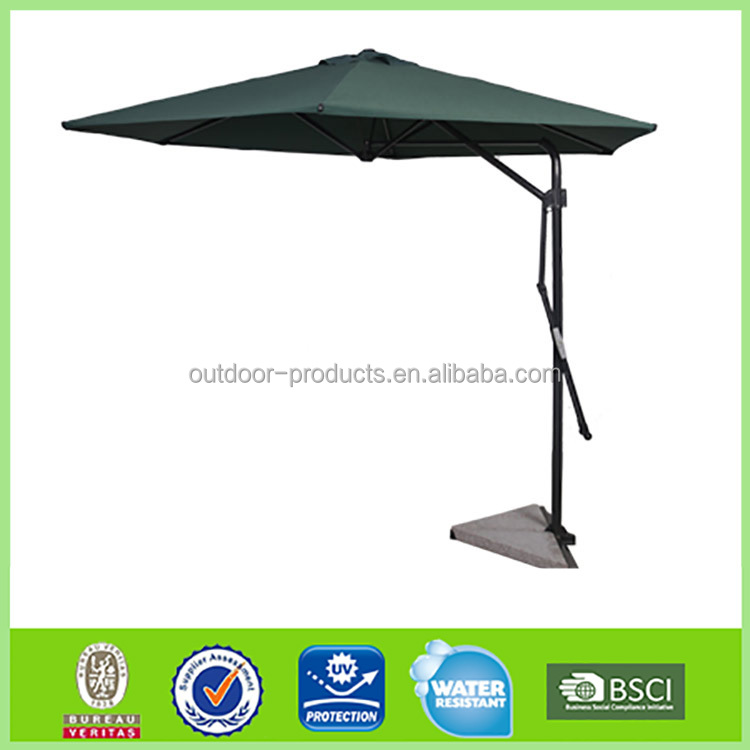 High quality Sunshade Aluminum Straight umbrella tilt mechanism