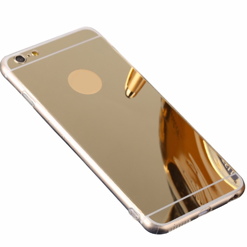electroplating mirror luxury tpu phone case for iphone 7