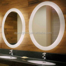 Luxury Hotel hollywood LED bathroom backlit stand for floor mirror