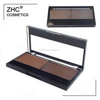 CC4263 Hot sale eyeshdow palette with 2 dark colors high pigment makeup eyeshadow and private label