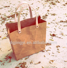 Good looking kraft paper shopping bag/cheap paper bag printing made in Guangdong