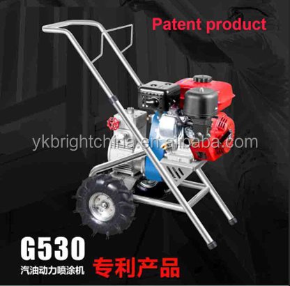new BIG POWER gasoline diaphragm pump sprayer G530 4 L/min 3.6KW 5.5HP Support 0.029 tip guarantee high quality for one year