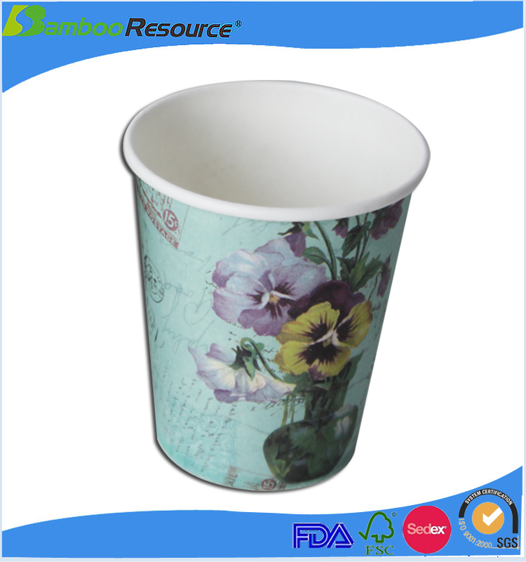 Wholesale disposable paper coffee cups for coffee tea