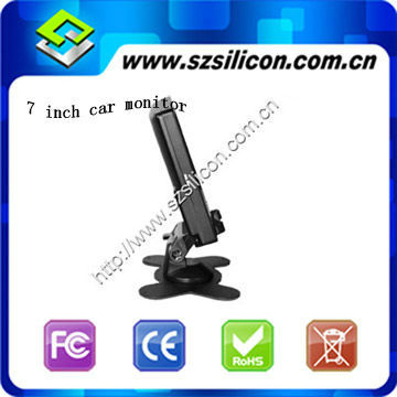 "High definition 7 "" color car tft monitor 7 inch monitor"