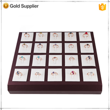 High grade customized stackable jewelry tray